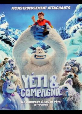 affiche du film YETI ET COMPAGNIE