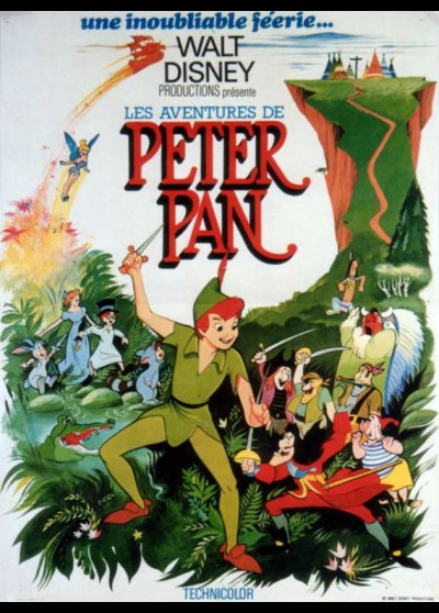 affiche du film AVENTURES DE PETER PAN (LES)
