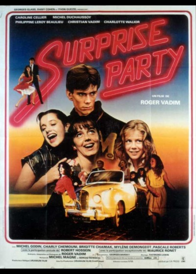 SURPRISE PARTY movie poster
