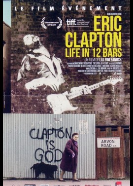 ERIC CLAPTON LIFE IN 12 BARS movie poster
