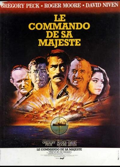 affiche du film COMMANDO DE SA MAJESTE (LE)