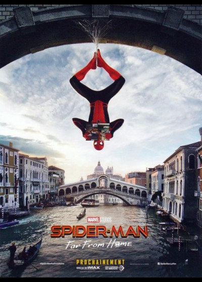 affiche du film SPIDERMAN FAR FROM HOME