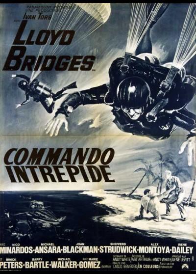 affiche du film COMMANDO INTREPIDE