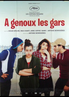 A GENOUX LES GARS movie poster