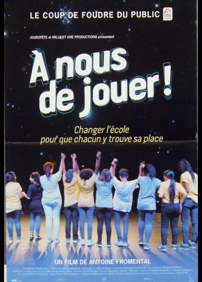 affiche du film A NOUS DE JOUER