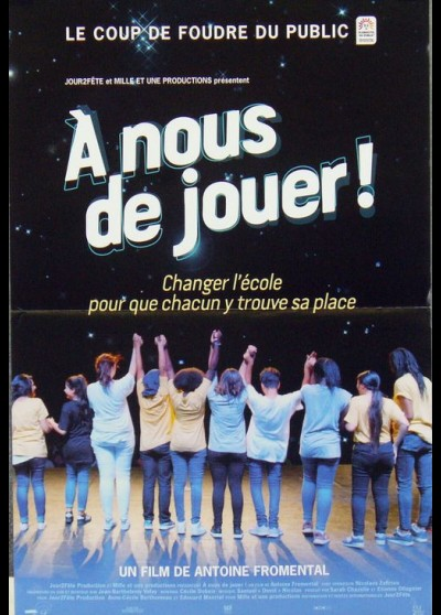 A NOUS DE JOUER movie poster