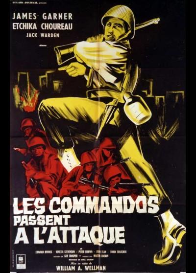 affiche du film COMMANDOS PASSENT A L'ATTAQUE (LES)