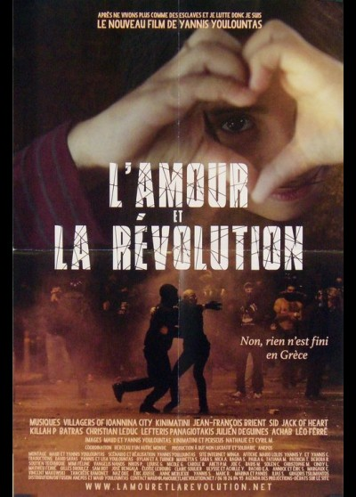 AMOUR ET LA REVOLUTION (L') movie poster