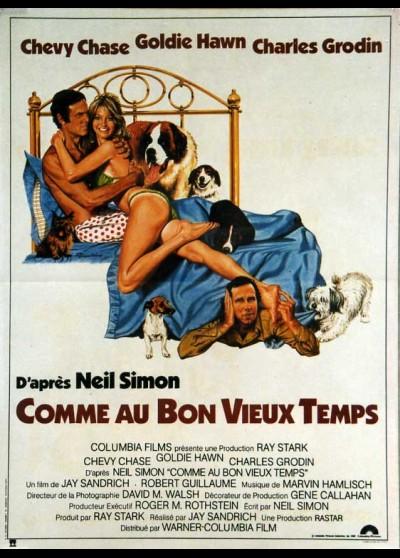 affiche du film COMME AU BON VIEUX TEMPS
