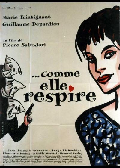 affiche du film COMME ELLE RESPIRE