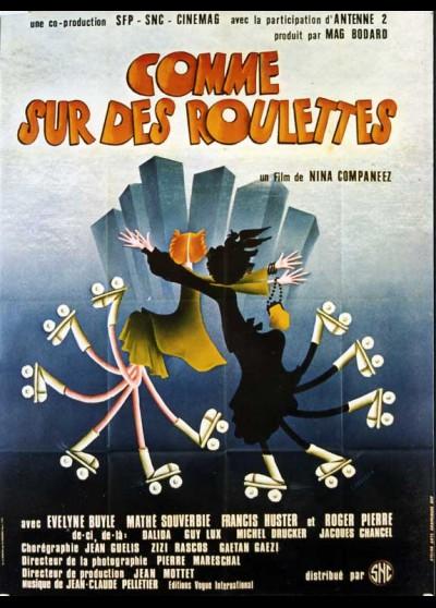 affiche du film COMME SUR DES ROULETTES