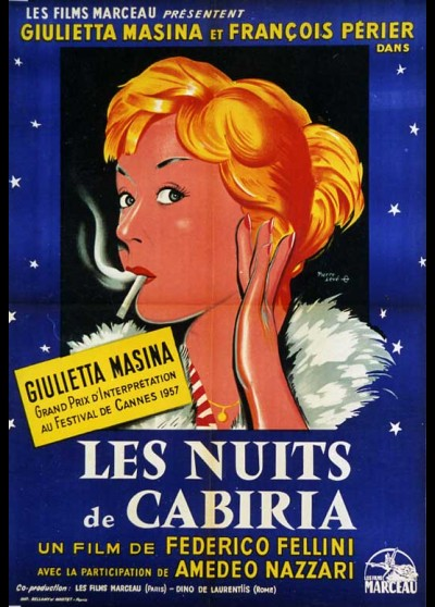 affiche du film NUITS DE CABIRIA (LES)