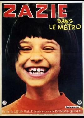 affiche du film ZAZIE DANS LE METRO