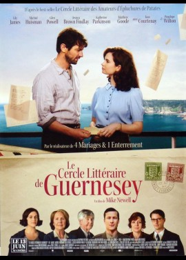 GUERNESEY LITERARY AND POTATO PEEL PIE SOCIETY (THE) movie poster