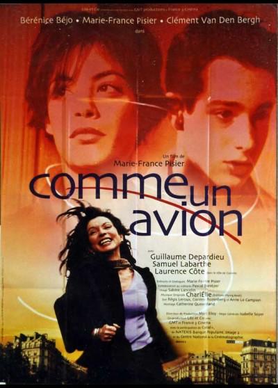 COMME UN AVION movie poster