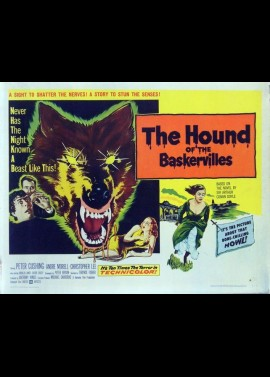HOUND OF THE BASKERVILLES (THE) movie poster