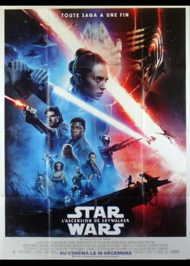 affiche du film STAR WARS 9 L'ASCENSION DE SKYWALKER