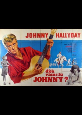 D'OU VIENS TU JOHNNY movie poster