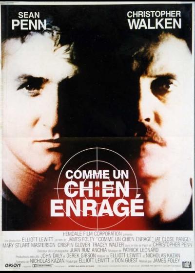 affiche du film COMME UN CHIEN ENRAGE