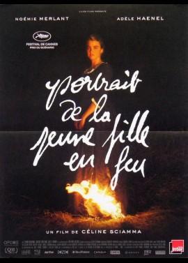 PORTRAIT DE LA JEUNE FILLE EN FEU movie poster