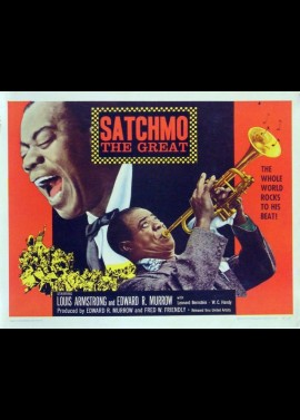 SATCHMO THE GREAT movie poster