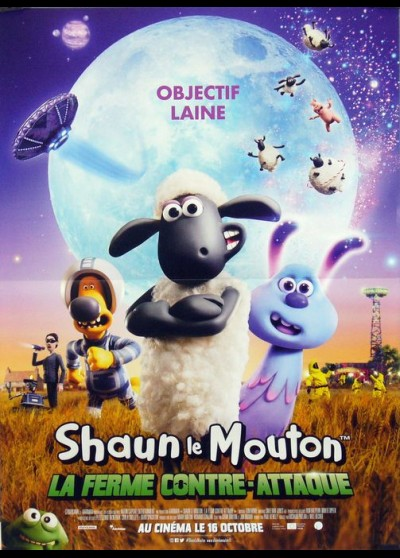 A SHAUN THE SHEEP MOVIE FARMAGGEDON movie poster