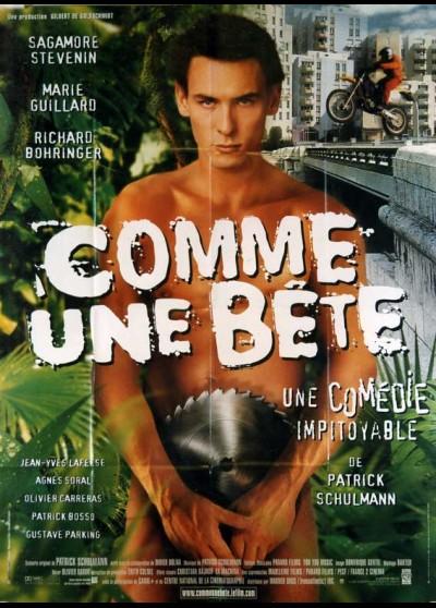affiche du film COMME UNE BETE