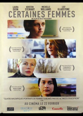 CERTAIN WOMEN movie poster
