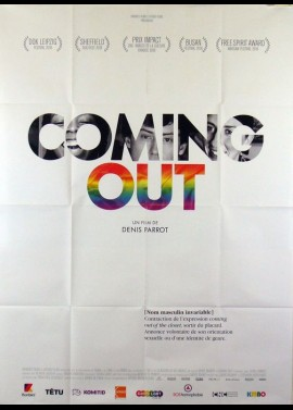 COMING OUT movie poster