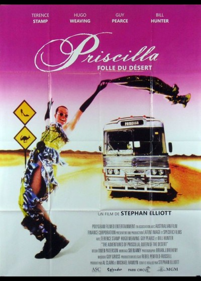 ADVENTURES OF PRISCILLA QUEEN OF THE DESERT (THE) movie poster