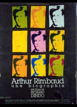 affiche du film ARTHUR RIMBAUD UNE BIOGRAPHIE