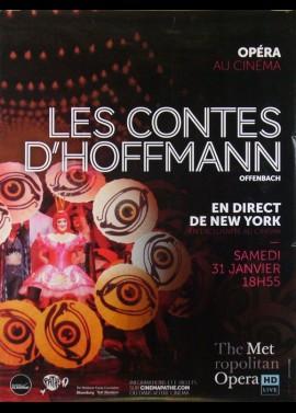 affiche du film CONTES D'HOFFMANN (LES)