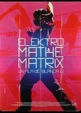 ELEKTRO MATHEMATRIX movie poster