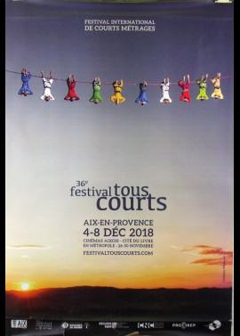 affiche du film FESTIVAL TOUS COURTS AIX EN PROVENCE 2018