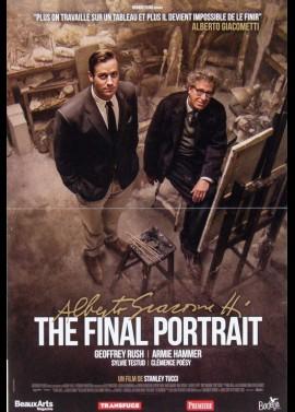 affiche du film ALBERTO GIACOMETTI THE FINAL PORTRAIT