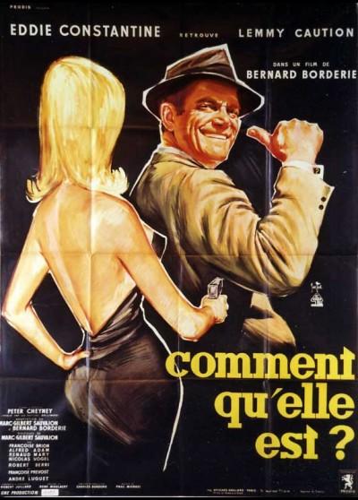 affiche du film COMMENT QU'ELLE EST