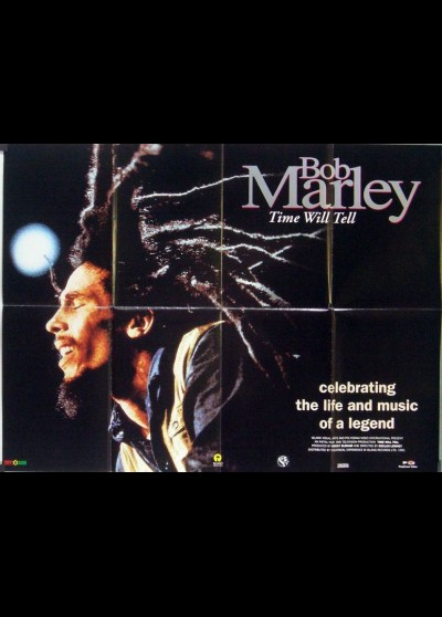 BOB MARLEY TIME WILL TELL movie poster
