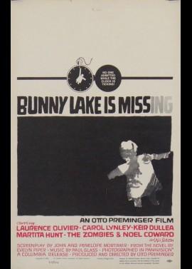 affiche du film BUNNY LAKE A DISPARU