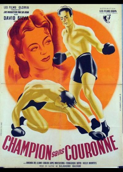 affiche du film CHAMPION SANS COURONNE