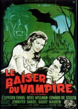 affiche du film BAISER DU VAMPIRE (LE)
