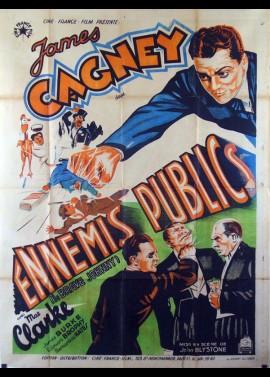 affiche du film ENNEMIS PUBLICS