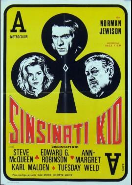 CINCINNATI KID (THE) movie poster