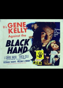 BLACK HAND movie poster
