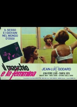MASCULIN FEMININ movie poster
