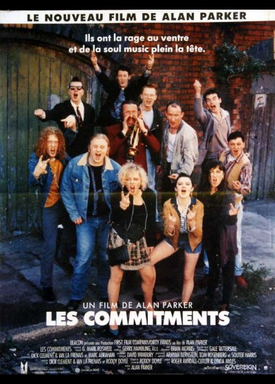COMMITMENTS (LES) movie poster