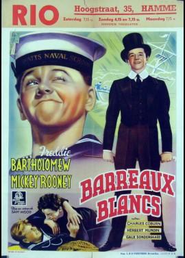 affiche du film BARREAUX BLANCS