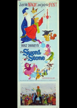 SWORD AND THE STONE (THE) movie poster