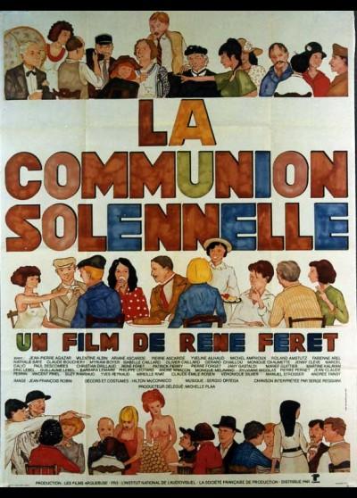 affiche du film COMMUNION SOLENNELLE (LA)