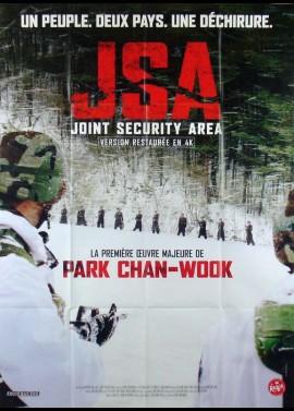 affiche du film JSA JOIN SECURITY AREA