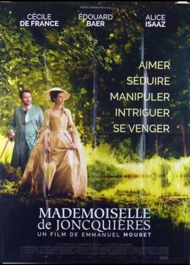 MADEMOISELLE DE JONCQUIERES movie poster